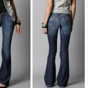 Citizens of Humanity low rise Ingrid Flare Jeans